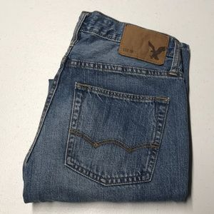 AMERICAN EAGLE Size 26 x 28 Straight Blue Jeans